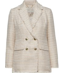 peyton ivory jacket blazers over d blazers beige notes du nord