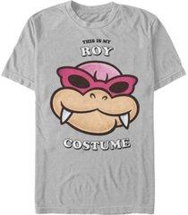 nintendo men's super mario roy halloween costume short sleeve t-shirt