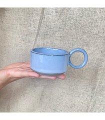 filiżanka bauhaus matise błękitna