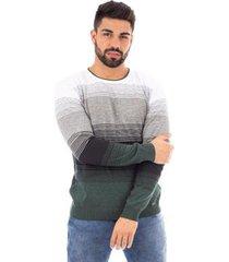 blusa de malha listrada sumaré masculina