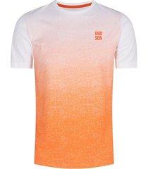 camiseta con diseño en degradé para hombre 02303