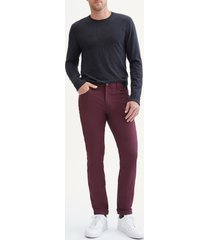 men's 7 for all mankind adrien slim tech jeans, size 38 - burgundy