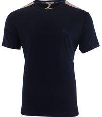 burberry brit men's cotton t-shirt blue size s, m