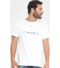 camiseta hurley silk collide the sky masculina