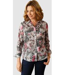 blouse paola grijs::lavendel