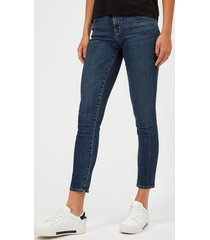 j brand women's 811 mid rise skinny jeans - mesmeric - w29/l32 - blue