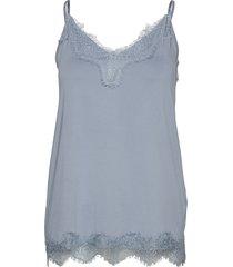 asa top lingerie blouses tops blå minus