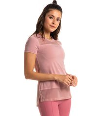 camiseta pink com tela