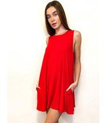 vestido rojo oma rio