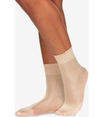 berkshire women's shimmer opaque anklet socks 5116
