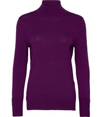 pullover long-sleeve turtleneck coltrui paars gerry weber
