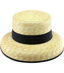 sombrero de paja natural almacén de paris