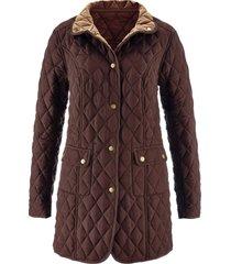 giacca trapuntata (marrone) - bpc selection