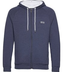 cashmere jacket hoodie blå boss