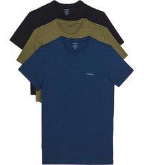 polera jakethreepack t shirt 3 pack multicolor diesel