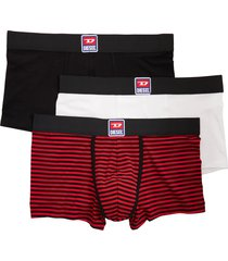men's diesel umbx damien 3-pack boxer briefs