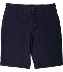 emporio armani blu bermuda shorts 8n1ph3-1j07z 933