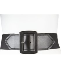 calvin klein 65mm flat-strap stretch belt