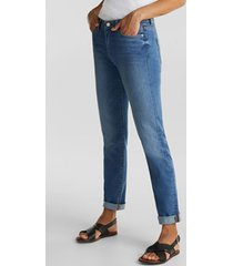 jeans slim medium rise reciclado azul esprit