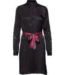 vest alexandra jurk knielengte zwart desigual