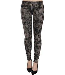 low waist skinny denim trousers jeans