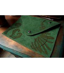 kopertówka leśne runo paproć zielony zamsz