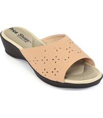 priceshoes sandalia confort dama 472116rosado