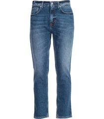 department 5 semi-flared leg jeans