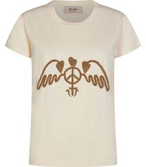 t-shirt royal o-ss beige
