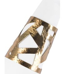 natori geometric gold cuff bracelet, women's