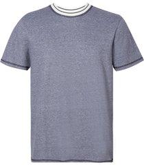 camiseta john johna rg bristol blue malha azul masculina (azul medio, gg)