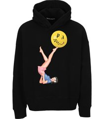 palm angels pin up hoodie