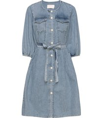 brookekb denim dress kort klänning blå karen by simonsen