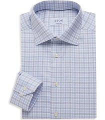 eton men's contemporary-fit dress shirt - blue - size 15