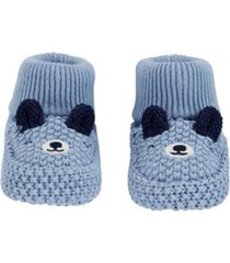 carter's baby boy bear baby booties
