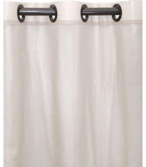 cortina  cl 230x280 barcelona camurca - bege - dafiti