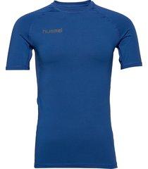 hml first performance jersey s/s t-shirts short-sleeved blå hummel