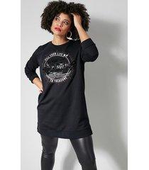sweatshirt angel of style zwart