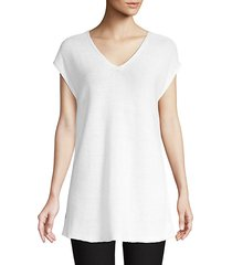 easy-fit organic knit tunic