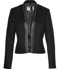 blazer corto in bouclé (nero) - bpc selection premium