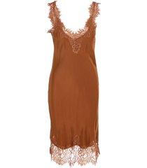 gold hawk megan coco silk dress