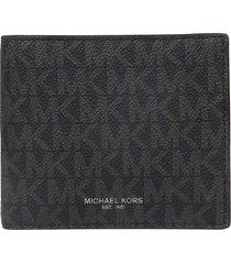 michael kors logo motif wallet
