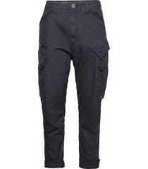 dr r relaxed tapered cargo pant trousers cargo pants blå g-star raw