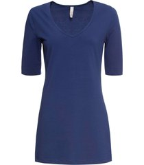 maglia con maniche a 3/4 (blu) - bodyflirt boutique