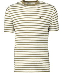 tommy jeans t-shirt - slim fit - groen