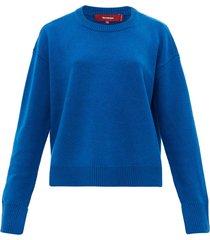 pardis crew-neck wool-blend sweater