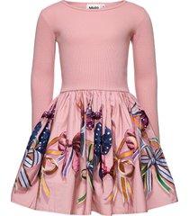 casie jurk roze molo