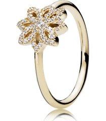 anel dália - flor da gentileza
