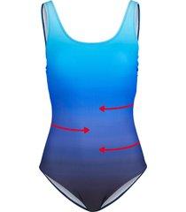 costume intero modellante livello 3 (blu) - bpc bonprix collection
