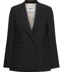 day classic gabardine blazers business blazers svart day birger et mikkelsen
